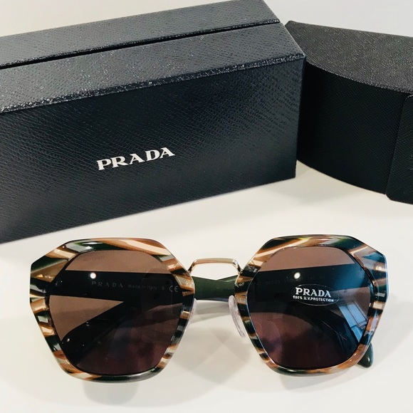 3bf88252d87 ✨AUTHENTIC✨ Prada Irregular Heritage Sunglasses 😎
